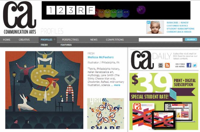 communication arts website