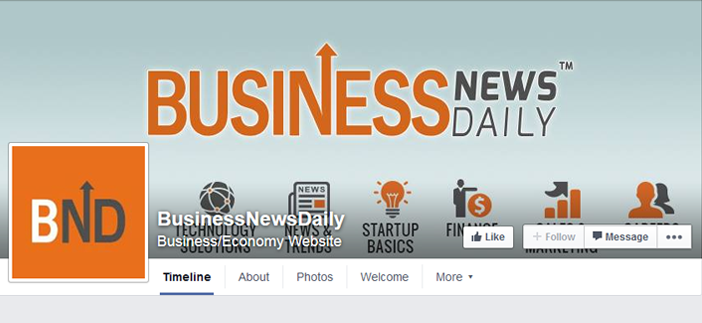 Business New Daily facebook page