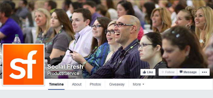 social fresh facebook page