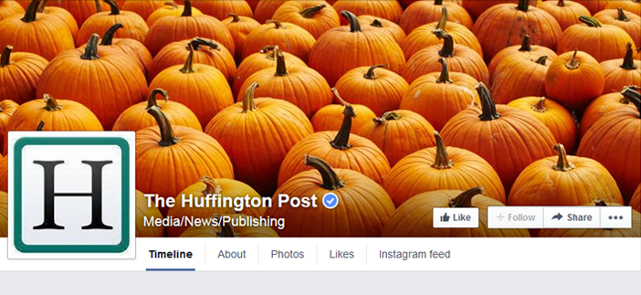 huffington post facebook page