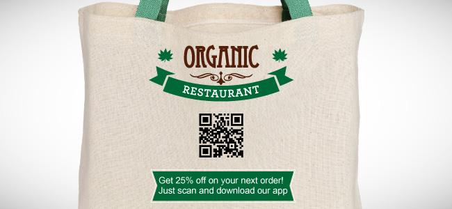 qr code on packaging